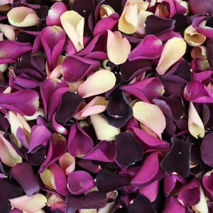 Romance Mix of Dried Rose Petals available from Petals & Roses
