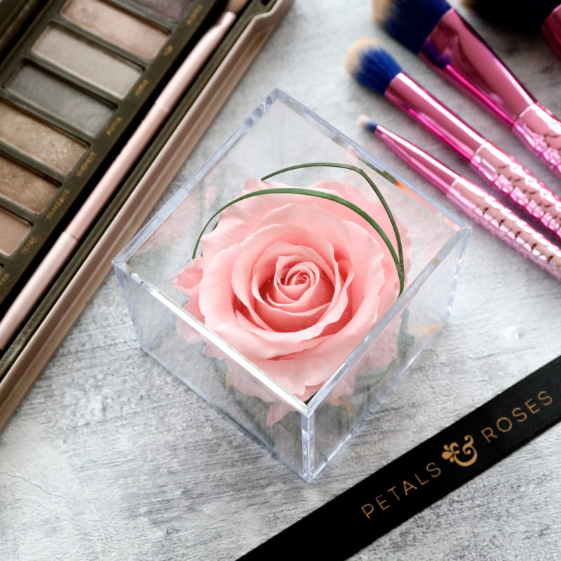 Pink Timeless Rose Cube