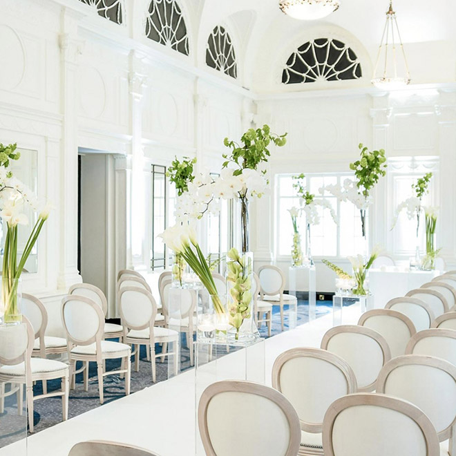 How to style the ultimate White Luxe Wedding