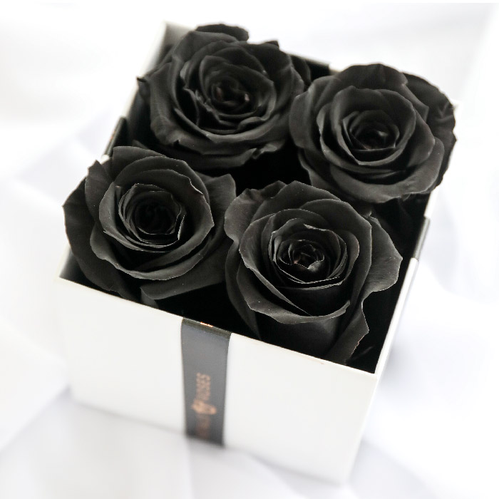 Black Luxe Rose Box