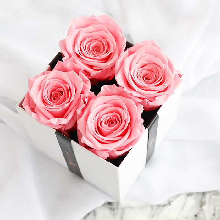 Pink Luxe Rose Box