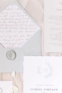 Luxe Wedding Invite