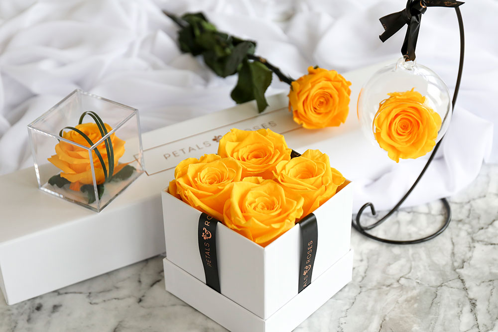 Long-lasting Real Rose Gifts